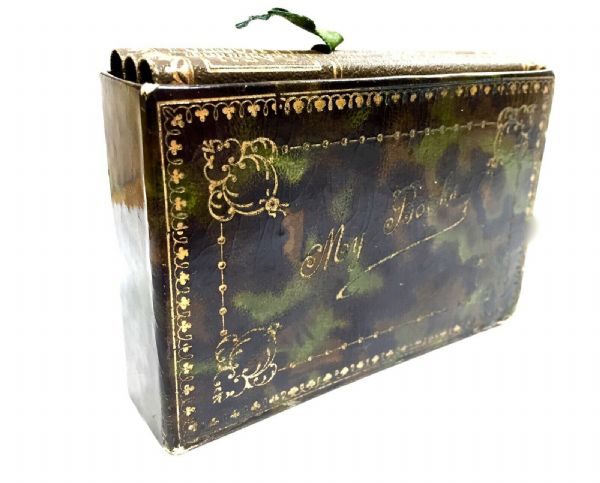 Antique Ladies Travel Books / Notebook / Social History / In Carry Case / Box